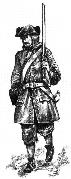 Bernischer Füsilier 1728