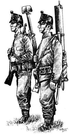 Mitrailleure 1914